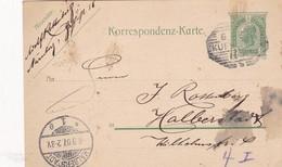 STATIONERY ENTIER 5 HELLER KAIS KONIGL CIRCULEE 1906 TO BERLIN - BLEUP - Ganzsachen