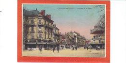 Chalon Sur Saône.Avenue De La Gare.Hotel Terminus - Chalon Sur Saone