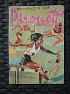 Pirouett' Mensuel N°21: L'ennemie/ Imperia, 1964 - Kleinformat