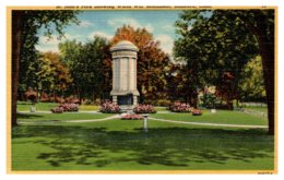 Connecticut Stamford , St.John's Park , WWII Monument - United States