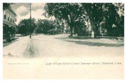 Connecticut Stamford ,Broad Street Coerner Summer Street - United States