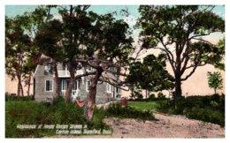 Connecticut Stamford ,   Caritas Island , Residence Anston Phelps Stokes Jr. - United States