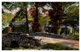 Connecticut Stamford , Laddins Rock Farm , Stone Bridge - United States