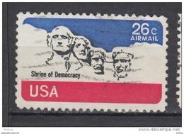 USA, Monument, Mount Rushmore, Art, Sculpture, Poste Aérienne, Airmal, Lincoln - Monumenten