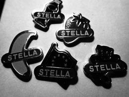 BIERE STELLA Lot De 5 Pin's Différents - Bière