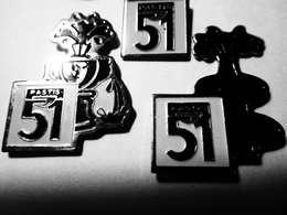 PASTIS 51 *** Lot De 3 Pin's Differents - Dranken