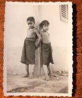 JEUNES FILLES MOÏ VIETNAM TRIBU LAOS ETHNIQUE ETHNOLOGIE WOMAN GIRL ASIE SNAPSHOT BU-DOP - Laos