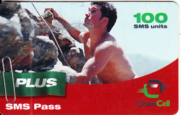 LEBANON - XEROX, Liban Cell Prepaid Card 100 SMS, Exp.date 22/01/06, Used - Libanon
