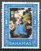1976 3 Cents Christmas, Used - Bahamas (1973-...)