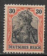 GERMANIA REICH IMPERO 1905 FIGURA ALLEGORICA DELLA GERMANIA UNIF. 87 MNH SENZA GOMMA VF - Nuovi