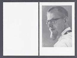 DOODSPRENTJE EERWAARDE PATER LEYS WITTE PATER VAN AFRIKA ° BRUGGE 1924 + ABA CONGO 1964 - Images Religieuses