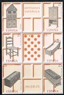 ESPAGNE / NEUFS**/MNH**/ 1991 - Artisanat Espagnol / Meubles - 1991-00 Ungebraucht