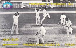 TRINIDAD & TOBAGO(GPT) - Cricket/Run Out, CN : 144CTTA(0 With Barred), Used - Trinidad & Tobago