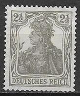 GERMANIA REICH IMPERO 1916 -20  ALLEGORIA SU FONDO BIANCO UNIF. 97 MNH XF - Nuovi