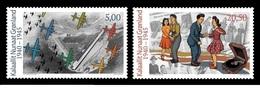Greenland 2018 - Greenland During World War II Stamp Set Mnh - Groenlandia