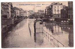 5020b -Nantes ( 44 ) - Nantes Inondé ( J. F. M. 1910 ) L'Ecluse - N°14 - Ph. Vassellier - - Nantes