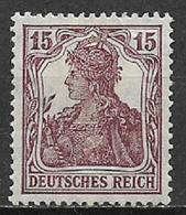 GERMANIA REICH IMPERO 1916 -20  ALLEGORIA SU FONDO BIANCO UNIF. 101 MLH VF - Nuovi