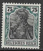 GERMANIA REICH IMPERO 1916 -20  ALLEGORIA SU FONDO BIANCO UNIF. 103 MNH SENZA GOMMA VF - Nuovi