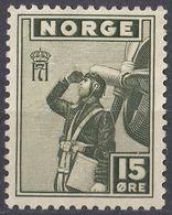 NORGE - NORVEGIA - 1945 - Yvert 264 Nuovo Senza Gomma. - Norvegia