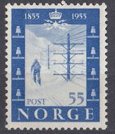 NORGE - NORVEGIA - 1954 - Yvert 354 Nuovo Senza Gomma. - Norvegia