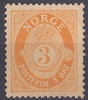 NORGE - NORVEGIA - 1898 - Yvert 48 Nuovo MH. - Norway