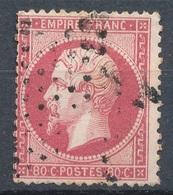 N°24 NUANCE ET OBLITERATION. - 1862 Napoleon III
