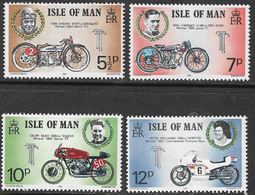 Isle Of Man SG63-66 1975 TT Races (2nd Issue) Set 4v Complete Unmounted Mint [40/32393/25D] - Isle Of Man