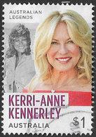 Australia 2018 Television Legends $1 Sheet Stamp Type 2 Good/fine Used [40/32394/ND] - 2010-... Elizabeth II