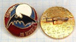RUSSIA / Badge / Tourism Speleology Caving. Bat 1990s - Animals
