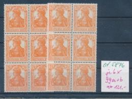 D.-Reich Nr. 6x 99 A+b   **    (ed5876 ) Siehe Scan - Deutschland