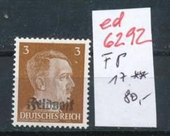 D.-Reich Nr. FP  17  **   (ed6292  ) Siehe Scan - Duitsland