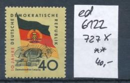 DDR Nr. 727 X  ** ....  (ed6122  ) Siehe Scan - DDR