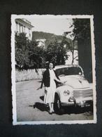 AUTO EPOCA OLD CAR VOITURE - DONNA FEMME WOMAN - Automobili