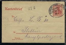 BERLIN-STRALSUND ZUG 328 26.2.07 Auf Ktenbf. - Deutschland
