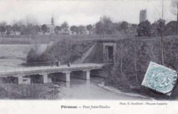80 - Somme - PERONNE -  Pont Saint Nicolas - Peronne