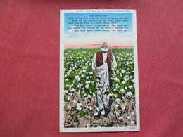 Black Americana Old Black Joe In Cotton Field     Ref 3421 - Black Americana