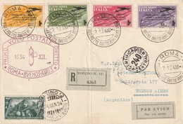 Italie - 1er Vol Rome Buenos Aires 1934 - 1900-44 Victor Emmanuel III