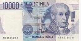 Italie - Billet De 10000 Lire - A. Volta - 3 Septembre 1984 - Presque Neuf - [ 2] 1946-… : République