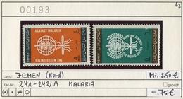 Jemen - Yemen - Michel 241-242 - ** Mnh Neuf Postfris - Malaria - Yemen
