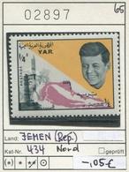Jemen - Yemen - Michel 434 - ** Mnh Neuf Postfris - Kennedy - Jemen