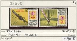 Pakistan - Michel 163-164 - ** Mnh Neuf Postfris - Malaria - Pakistan