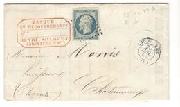 18532 - CHATEAUNEUF Type  13  En Arrivée - Storia Postale