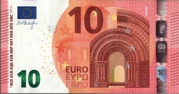 ! 10 Euro Banknote F002G4, Draghi - EURO