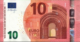 ! 10 Euro Banknote F002G3, Draghi - EURO
