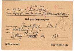 18550 - OFLAG  XVII A DOLLERSTEIN EDELBACH - Storia Postale