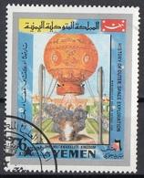 Mutawakelite K. Yemen 1969 Mi. 864 Mongolfiera Ballon - History Of Outer Space Exploration - Mongolfiere