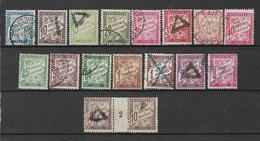 France Timbres Taxe De 1893/1935 N°28 A 42a (sauf N°34 Et N°39)+millésime Du N°29 - 1859-1955 Gebraucht