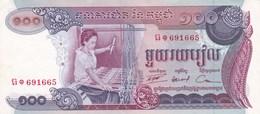 Cambodge - Billet De 100 Riels - Non Daté - Presque Neuf - Cambodia