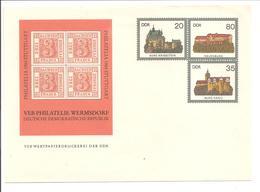 Privat Zdr U1 Sachsen Dreier - Private Covers - Mint