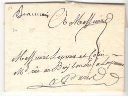 18557 - De BEAUVAIS - 1701-1800: Précurseurs XVIII
